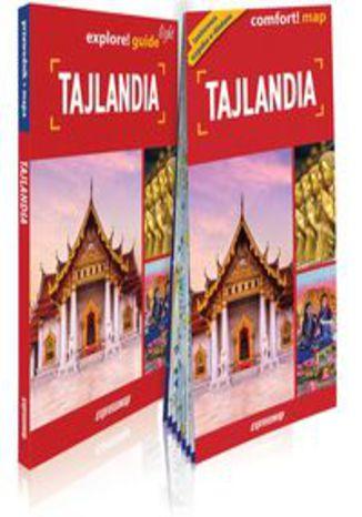 Okładka książki/ebooka Tajlandia light przewodnik + mapa. explore guide! light