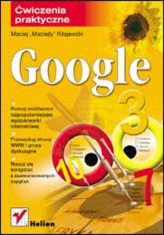 Okładka książki/ebooka Google. Ćwiczenia praktyczne