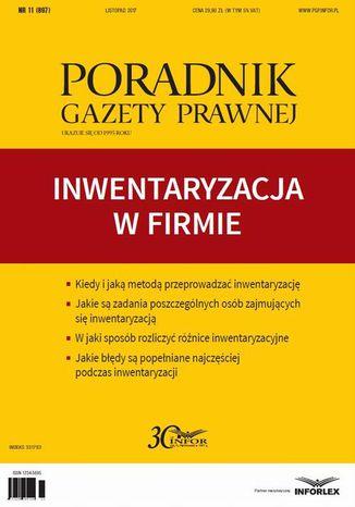 Okładka książki/ebooka Inwentaryzacja w firmie