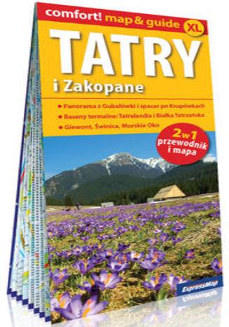 Okładka książki/ebooka Tatry i Zakopane 2w1: przewodnik i mapa
