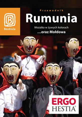 Okładka książki/ebooka Rumunia. Mozaika w żywych kolorach...oraz Mołdowa. Wydanie 4