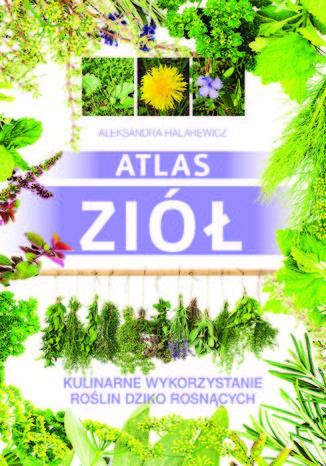 Okładka książki/ebooka Atlas ziół. Kulinarne wykorzystanie roślin dziko rosnących