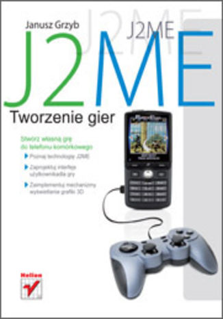 Okładka książki J2ME. Tworzenie gier
