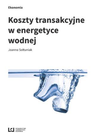 Okładka książki Koszty transakcyjne w energetyce wodnej