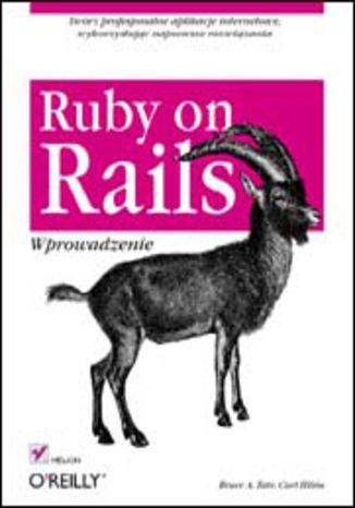 Okładka książki/ebooka Ruby on Rails. Wprowadzenie