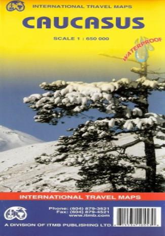 Okładka książki/ebooka Kaukaz. Mapa ITMB 1:650 000