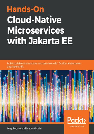 Okładka książki/ebooka Hands-On Cloud-Native Microservices with Jakarta EE