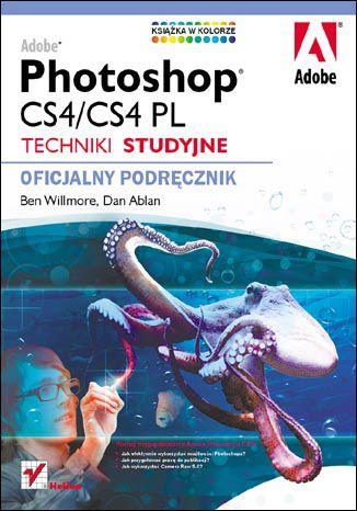 Okładka książki/ebooka Adobe Photoshop CS4/CS4 PL. Techniki studyjne. Oficjalny podręcznik