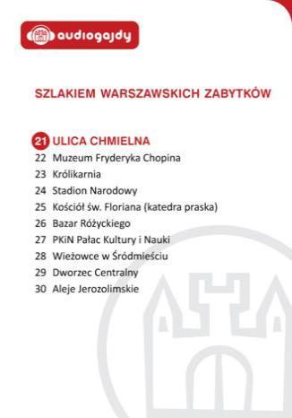Okładka książki/ebooka Ulica Chmielna. Szlakiem warszawskich zabytków