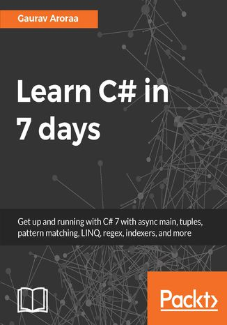 Okładka książki/ebooka Learn C# in 7 days