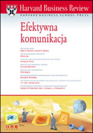 Okładka książki/ebooka Harvard Business Review. Efektywna komunikacja