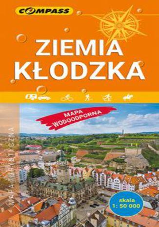 Okładka książki/ebooka Ziemia Kłodzka mapa laminowana