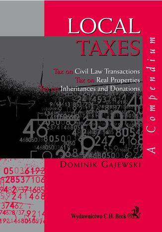 Okładka książki/ebooka Local Taxes. A compendium