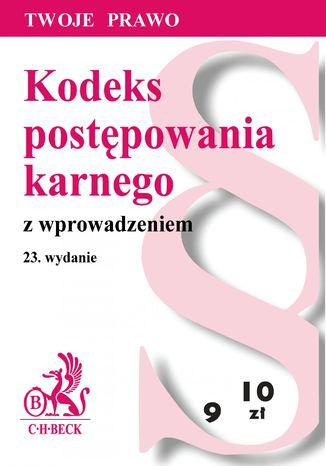 Okładka książki/ebooka Kodeks postępowania karnego z wprowadzeniem