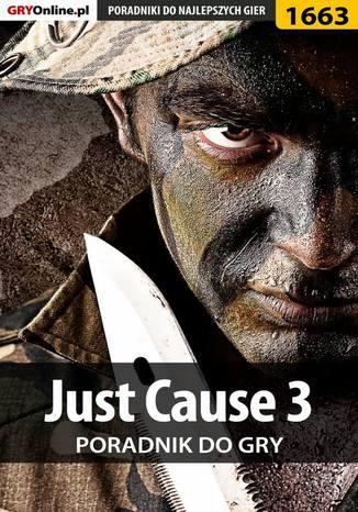 Okładka książki/ebooka Just Cause 3 - poradnik do gry