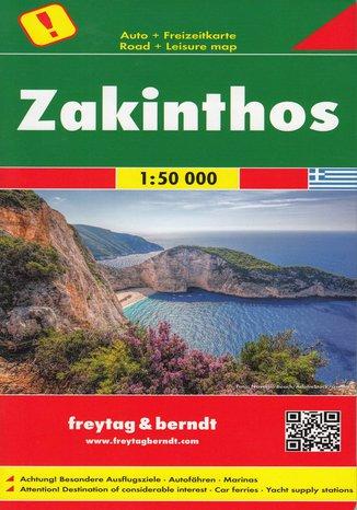 Okładka książki/ebooka Zakintos, 1:50 000