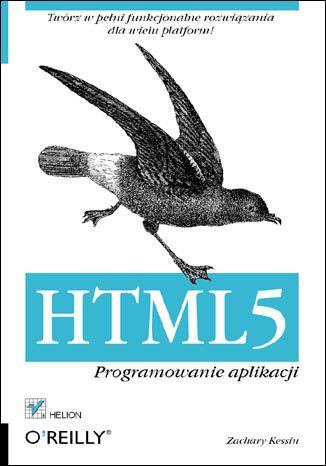 Okładka książki/ebooka HTML5. Programowanie aplikacji
