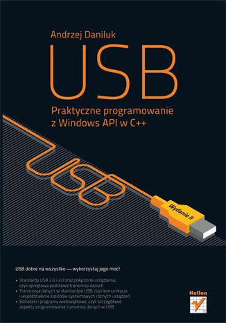 Okładka książki/ebooka USB. Praktyczne programowanie z Windows API w C++. Wydanie II