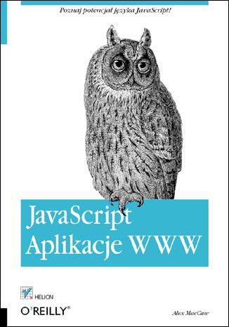 Okładka książki/ebooka JavaScript. Aplikacje WWW
