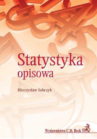 Okładka książki/ebooka Statystyka opisowa