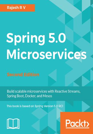 Okładka książki/ebooka Spring 5.0 Microservices - Second Edition