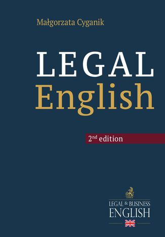 Okładka książki/ebooka Legal English