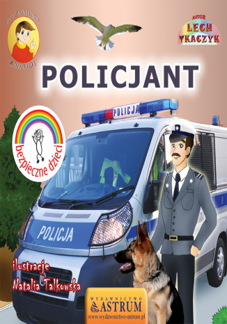 Okładka książki/ebooka Policjant - bajka