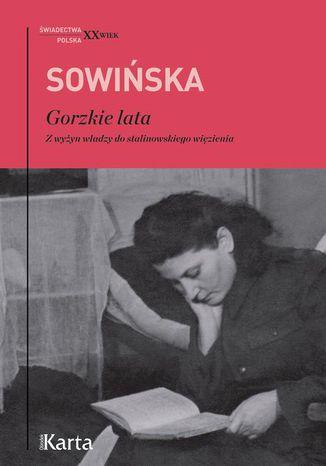 Okładka książki/ebooka Gorzkie lata