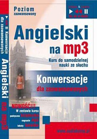 Okładka książki/ebooka Angielski namp3 Konwersacje dla zaawansowanych