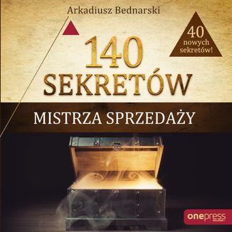 Okładka książki 140 sekretów Mistrza Sprzedaży