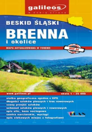 Okładka książki/ebooka Brenna i okolice. Mapa [Galileos]