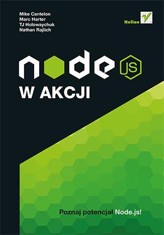 Okładka książki/ebooka Node.js w akcji