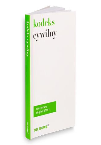 Okładka książki/ebooka Kodeks cywilny wrzesień 2019