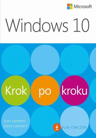 Okładka książki/ebooka Windows 10 Krok po kroku