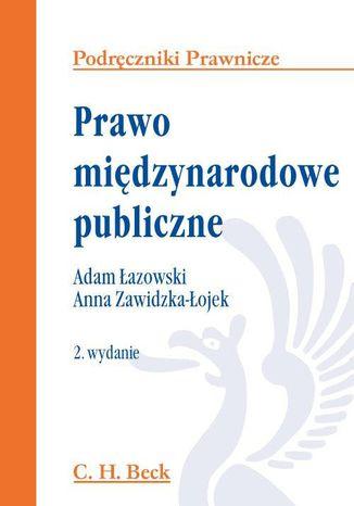Okładka książki/ebooka Prawo międzynarodowe publiczne