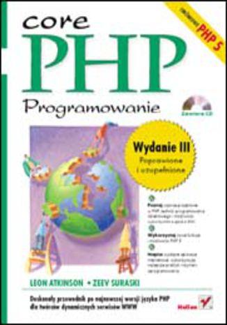 Okładka książki/ebooka PHP. Programowanie. Wydanie III
