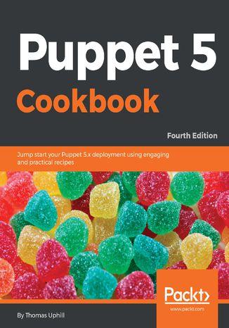 Okładka książki/ebooka Puppet 5 Cookbook