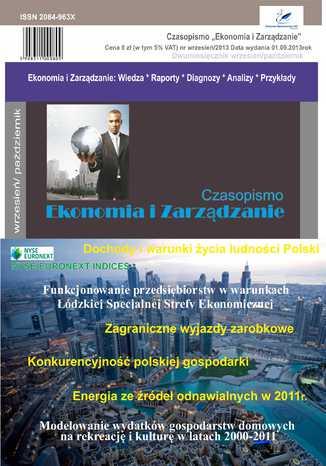 Okładka książki/ebooka Czasopismo Ekonomia i Zarządzanie nr 5 wrz/2013