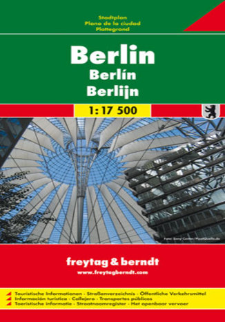 Okładka książki/ebooka Berlin. Mapa Freytag & Berndt / 1:17 500