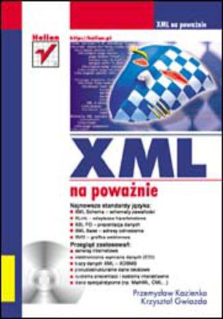 Okładka książki/ebooka XML na poważnie
