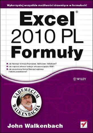 Okładka książki/ebooka Excel 2010 PL. Formuły