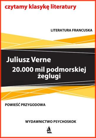 Okładka książki/ebooka 20.000 mil podmorskiej żeglugi