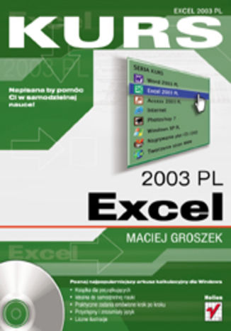 Okładka książki/ebooka Excel 2003 PL. Kurs