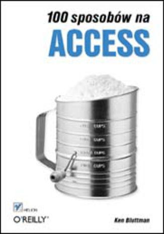 Okładka książki/ebooka 100 sposobów na Access