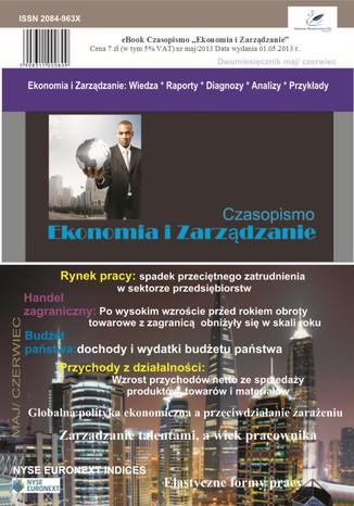 Okładka książki/ebooka Czasopismo Ekonomia i Zarządzanie nr 3 maj/2013