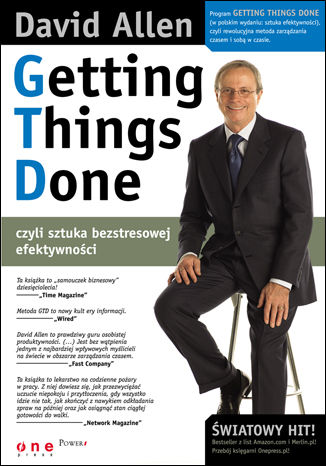 Okładka książki/ebooka Getting Things Done, czyli sztuka bezstresowej efektywności