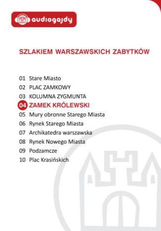 Okładka książki/ebooka Zamek Królewski. Szlakiem warszawskich zabytków