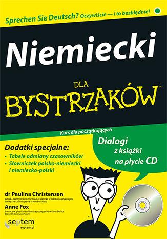 Okładka książki/ebooka Niemiecki dla bystrzaków. Wydanie II