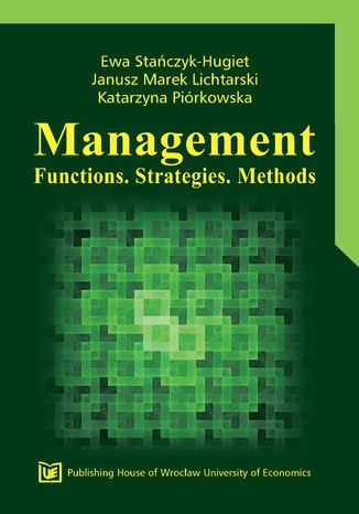 Okładka książki/ebooka Management. Functions. Strategies. Methods
