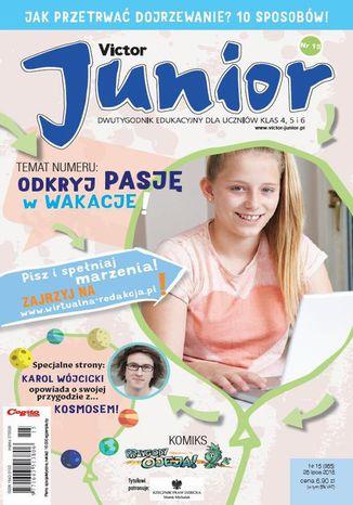 Okładka książki/ebooka Victor Junior nr 15 (365) 26 lipca 2018